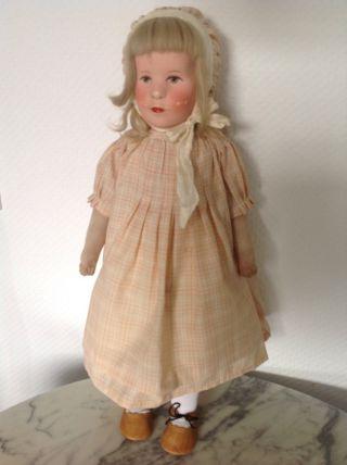 Käthe Kruse Puppe Viii - Das Große Deutsche Kind Bild