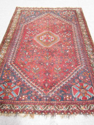 Antiker Perserteppich Gashgai/ Ghaschghaie 295x212cm Antique Carpet,  Tapis Nr.  260 Bild