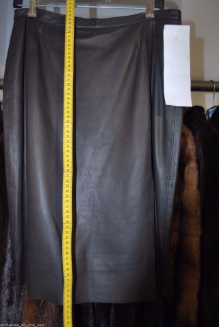 Echt Leder Damen Rock Gr.  M Real Leather Lederrock Lederdamenrock 0685 Bild