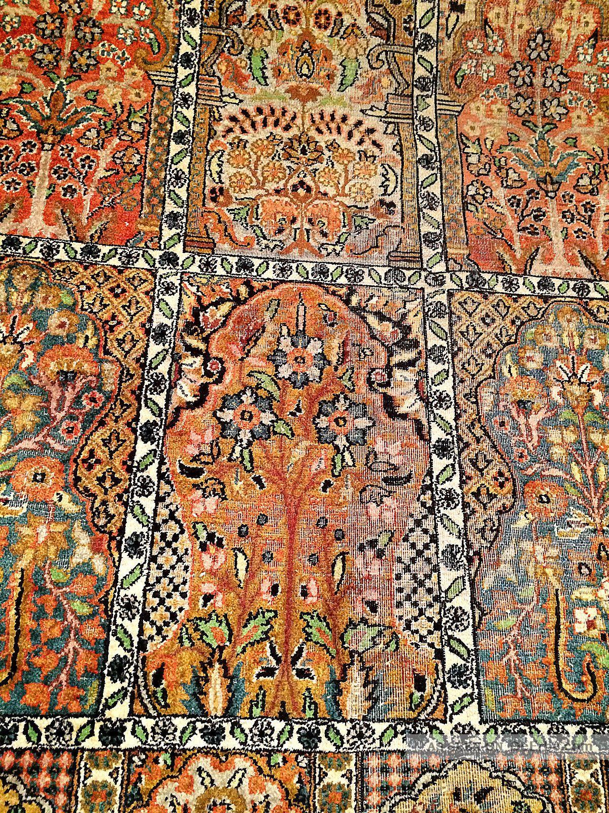 Mediterrane Steinwand Tapete : teppich wohnzimmer natur : Teppich Handgekn?pft Kaschmir Seide Natur