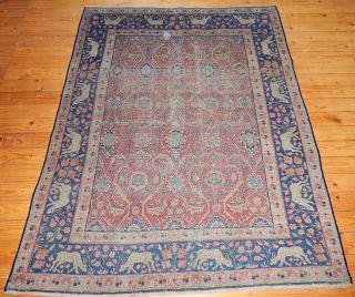 Semi Antiker Pasyryk Teppich Design Älteste Teppich 173x137cm Bild