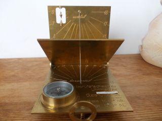 Glashütte Sonnenuhr - Berufsfachschule Für Uhrmacher Bild