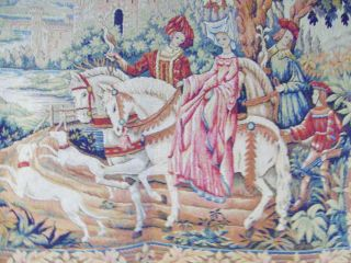 Wandteppich The Royal Hunt Tapestry By Marc Waymel Franklin 1984 116x94cm Bild