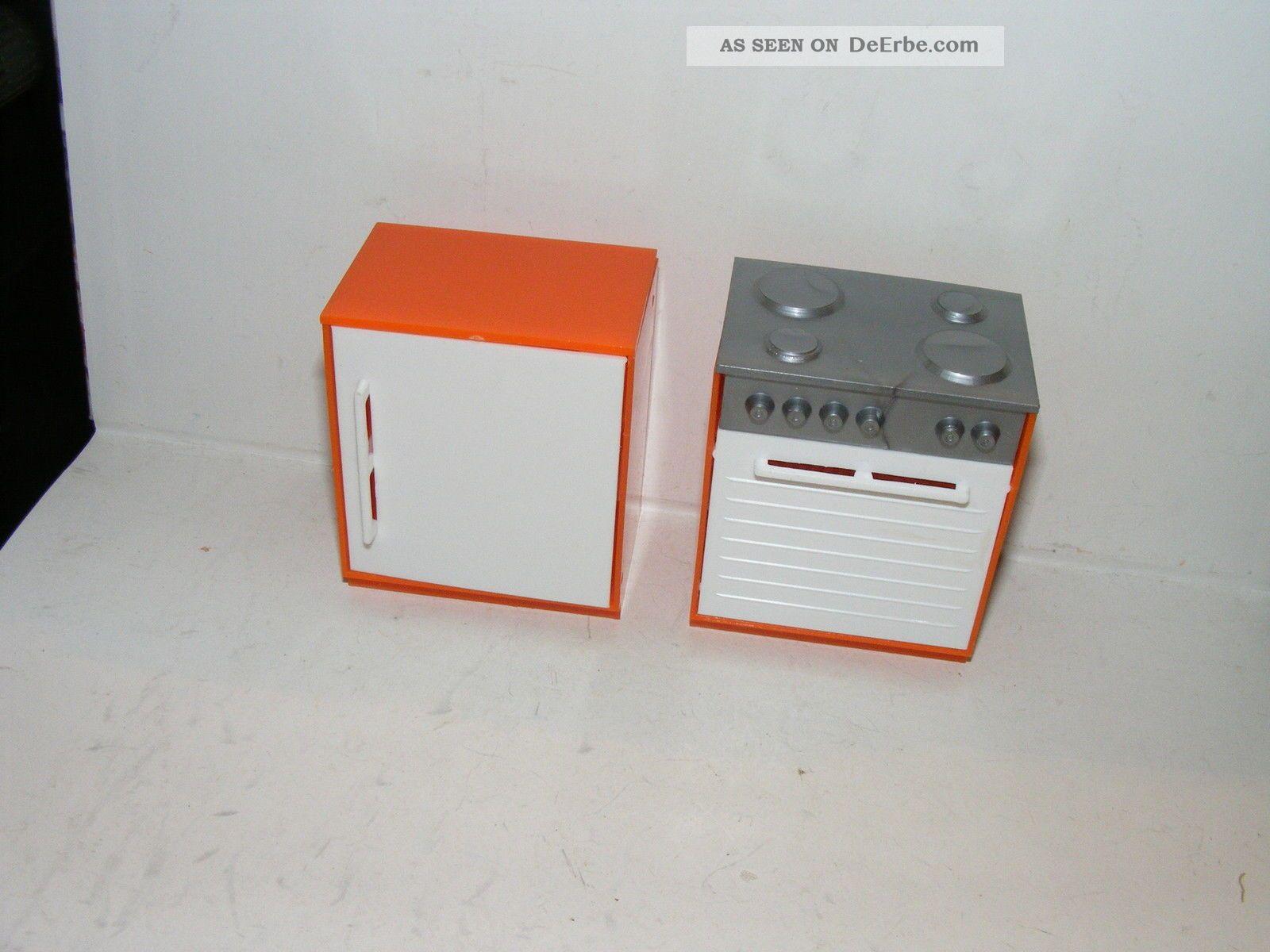 Kühlschrank Puppenhaus : Alte herd kühlschrank er j küche kaufladen puppenhaus