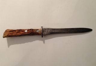 Altes Messer 1780 Bajonett???? Horn 11760 Bild