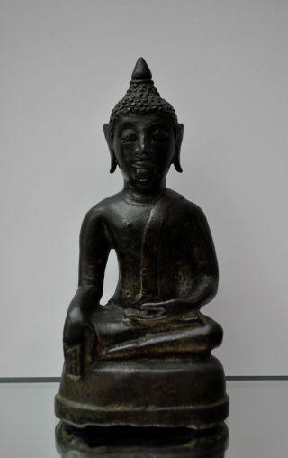 Buddha Thailand,  19.  Jhd. ,  Antique,  Buddha Bild