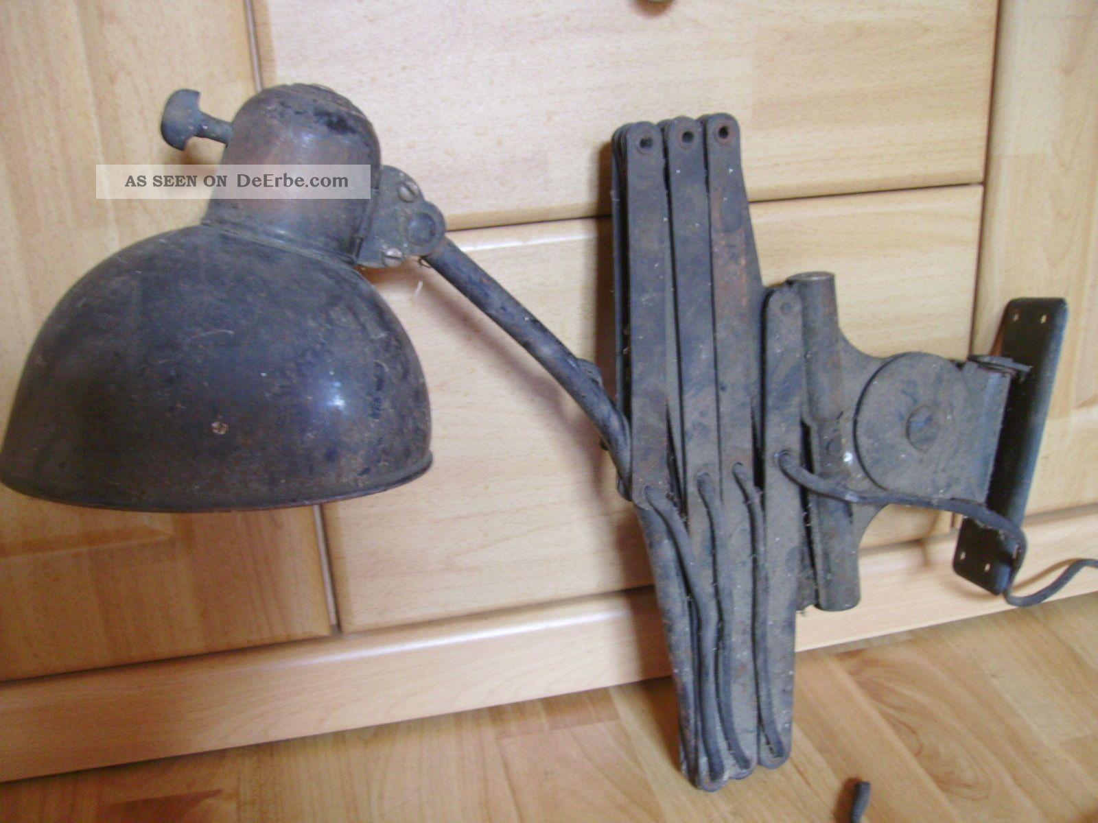 kaiser idell scherenlampe lampe zum restaurieren. Black Bedroom Furniture Sets. Home Design Ideas