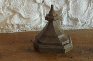 Holzsockel - Postament - Wandkonsole - Holz Bild