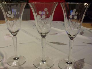 5 Sektgläser/champagnergläser Art Deco Bild