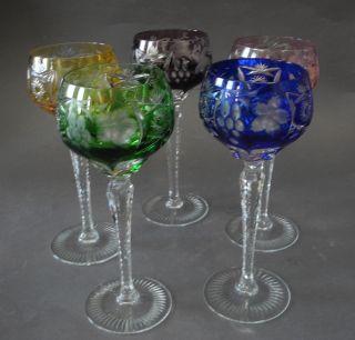 5 Nachtmann Kristall Glas Römer / Weinrömer
