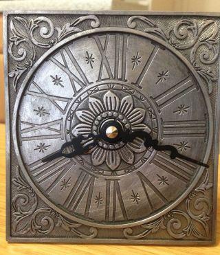 Zinn Uhr,  Wanduhr,  Tischuhr,  Kaminuhr,  Kienzle Bild