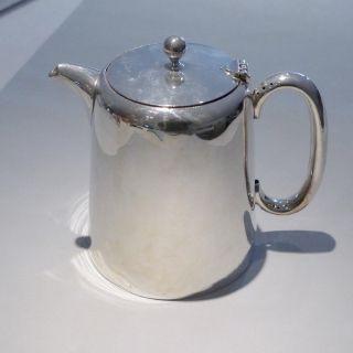 Alte Silberkanne,  Hotelsilber Versilbert - Gr.  Kaffeekanne 1,  2 L Bild