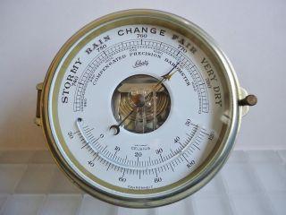 Schatz Schiffs - Barometer Holosteric Precision Mit Thermometer. Bild