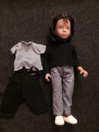 Sasha Morgenthaler Puppe Junge/doll Boy Gregor Bild