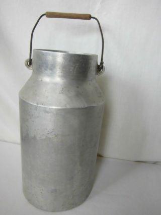 Massive Aluminium Milchkanne Ca 5 L Mit Henkel Keine Dellen Möglich Bild