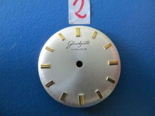 Glashütte 17 Rubis Seltenes Zifferblatt Uhrmacher Uhrmacherbedarf 2 Bild