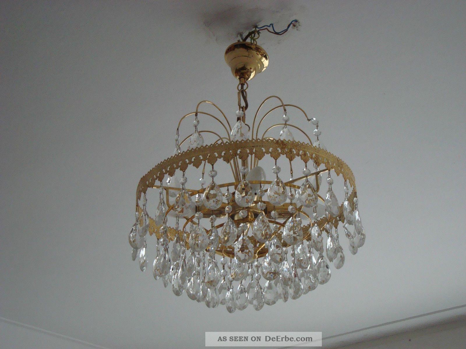 sch ner kleiner kronleuchter korbl ster stufenl ster kristallglas l ster. Black Bedroom Furniture Sets. Home Design Ideas