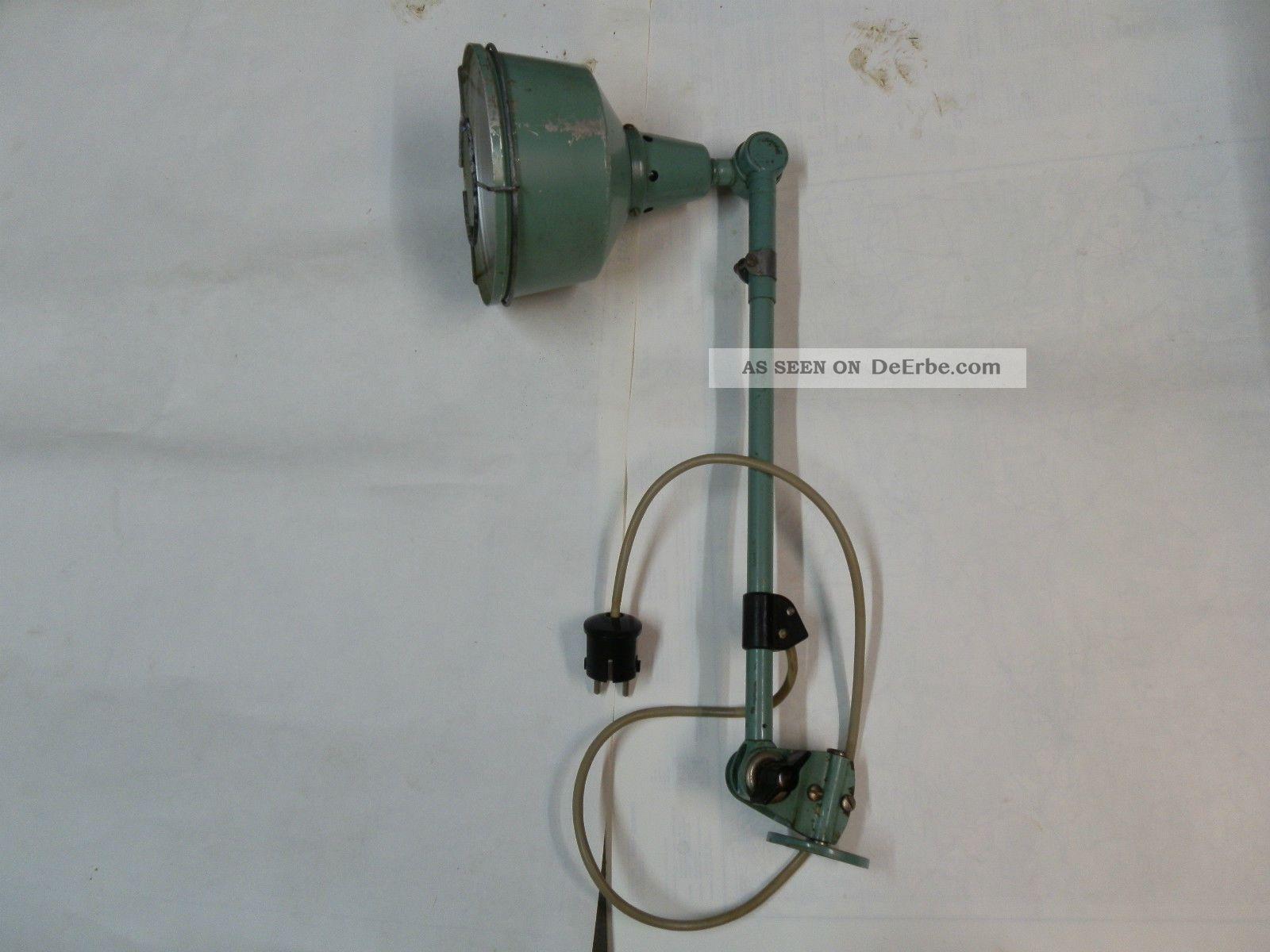 Lampe Gelenklampe Midgard Ddr Fabriklampe Bauhaus