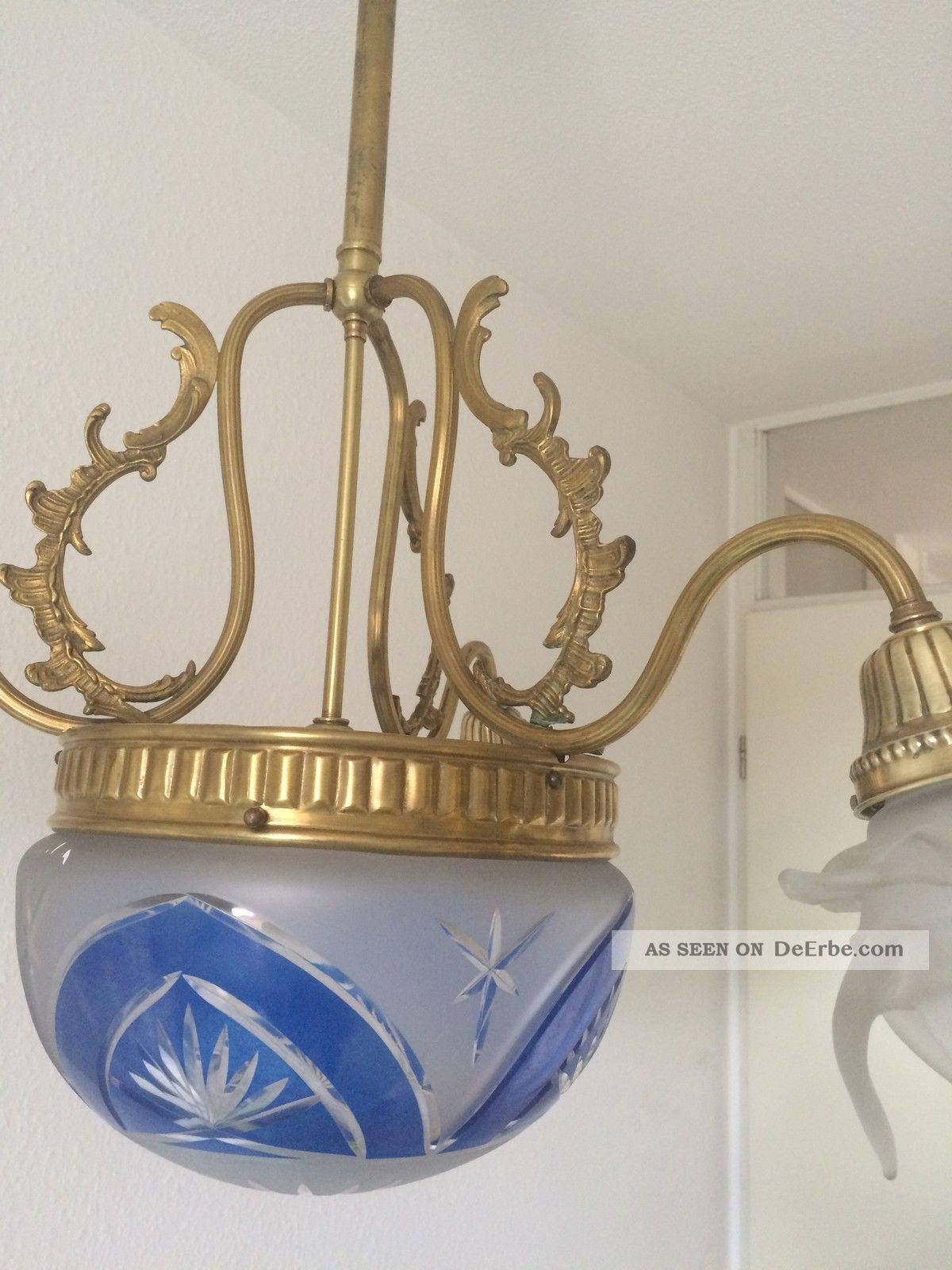 wundersch ne jugendstil lampe val saint lambert leuchte. Black Bedroom Furniture Sets. Home Design Ideas