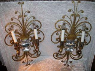 Paar Florentiner Wandlampen Wandlampe Banci Italy Wall Sconce Bild