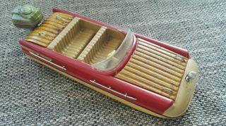 Schuco Record 5555 Joy De Luxe Elektro - Record Rekord Western Germany Boot Yacht Bild