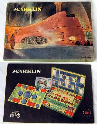 Märklin Haupt - Händler - Katalog D 47 Von 1947 Im Top - - Bild