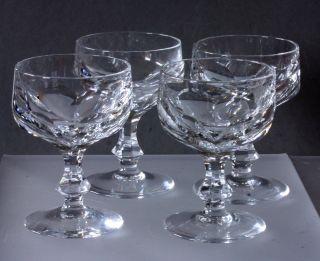 Likörgläser _ Bleikristall Mit _schliff _ 4 Stück _ Harrach ' Sche Glasfabrik Bild