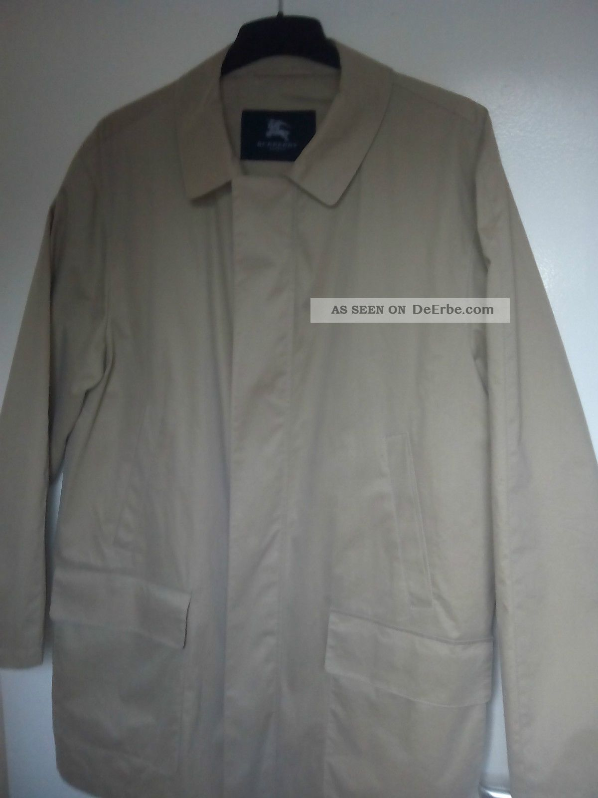 Trenchcoat Burberry London Kleidung Bild