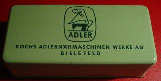 Kochs Adlernähmaschinen Werke Ag Bielefeld - Grüne Blechdose - Alt Bild