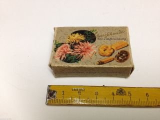 Alte Pappschachtel,  Schaarschmidt,  Keks U.  Waffelmischung,  Zubehör,  Kaufmannsladen Bild