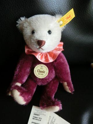 Steiff Teddy Classic Dolly BÄr Ean 006401 22 Cm K/f/s/infozettel Bild