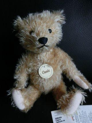 Steiff Classic Teddy Ean 005404 26 Cm K/s/infozettel Sparcemohair Bild