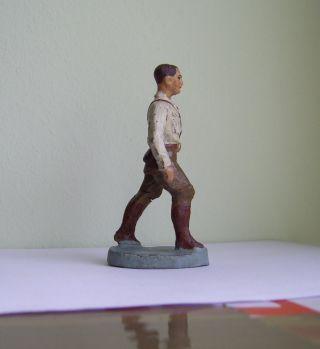 Elastolin Hausser Um 1938 Masse Figur Sehr Selten Bild