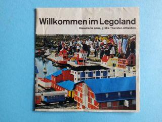 Lego Prospekt Willkommen Im Legoland Dänemarks Neue Große Touristen Attraktion Bild