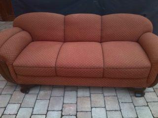 50er Jahre Vintage Sofa Couch,  2 Sessel,  Rockabilly 5 - Sitzplätze. Bild