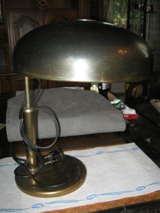 Alte Pilz Schreibtischlampe,  Ansehen Bild