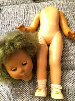 Alte Schildkröt Puppe Ca.  50 Cm Nr.  44 Bild