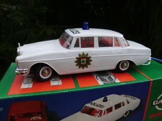 Gama 4090 Polizei Mercedes Mit Blaulicht Und Kabel Fernsteuerung - Ovp Bild