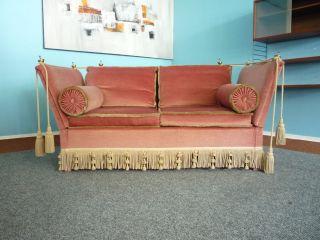 Verspieltes Sofa Daybed - Messing - Italien - 50er - - Shabby Chic Bild
