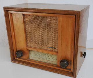 Lorenz Röhrenradio 48 A 1948/1949 Bild