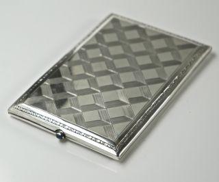 Schöne Zigarettendose,  Sterling Silber,  935er