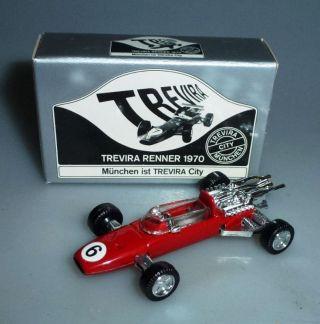 Schuco Nr.  840 1:66 Ferrari F2 Werbemodell Trevira Renner 1970 Die - Cast,  Ovp Bild