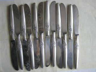 Besteck Silberbesteck Messer Prinz - Seibel Kleeblatt Rose 100er 12 Teilen Bild