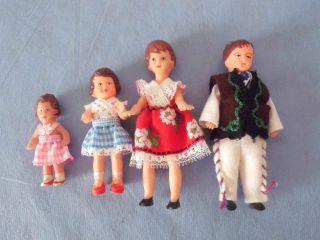 Ari Puppenfamilie Für Puppenstube/puppenhaus Bild