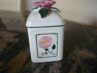 Villeroy Und Boch Wildrose Dose Marmelade,  Honig,  Zucker Bild