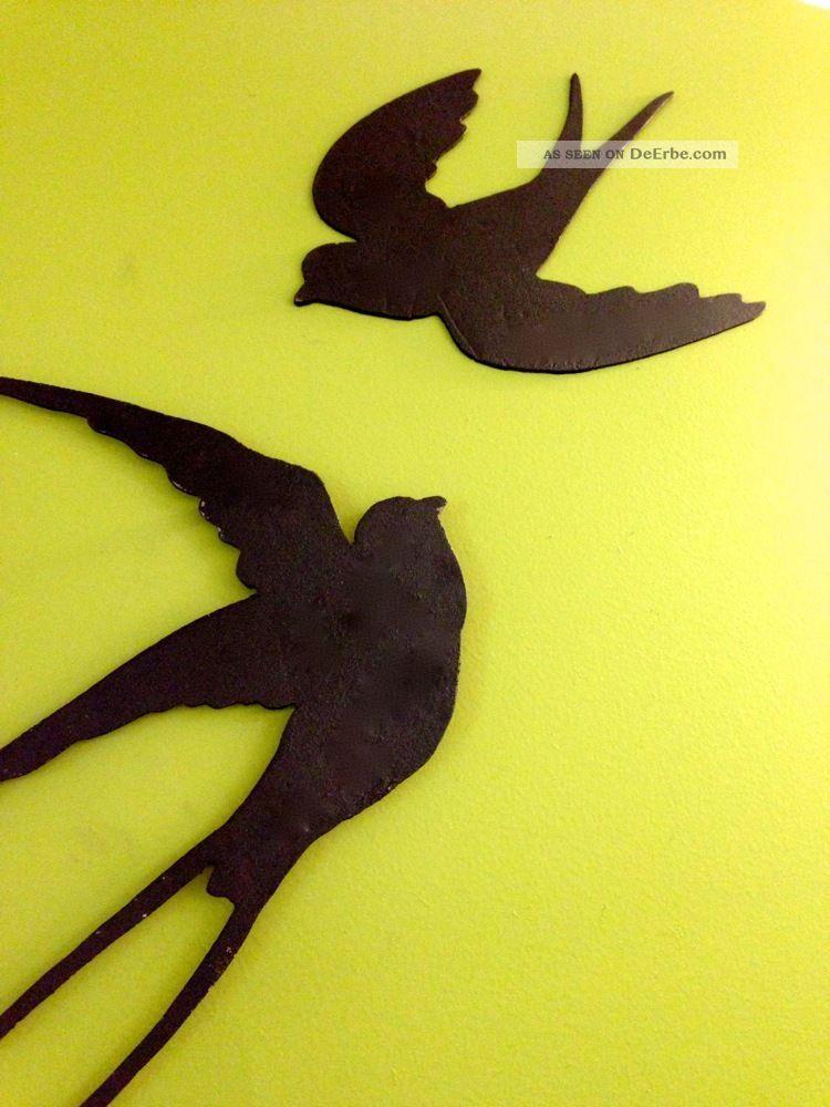 schwalben rauchschwalben wand deko schwalben vogel silhouette terrasse. Black Bedroom Furniture Sets. Home Design Ideas