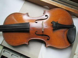 Geige Um 1900 Bild