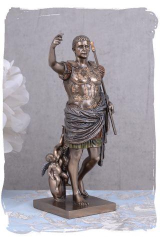 Skulptur Augustus Von Primaporta CÄsar Imperator Antike Bild