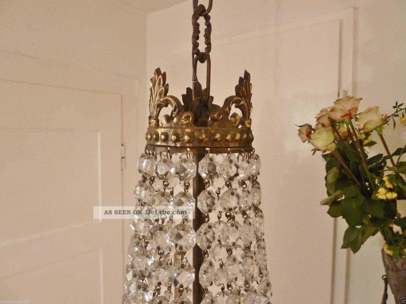 Empire Kronleuchter Antik ~ KorblÜster art nouveau kristall bronze kronleuchter frankreich empire