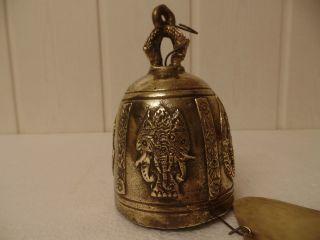 Tempelglocke Buddistische Glocke Sehr Alt,  Sammelwürdigl Bild